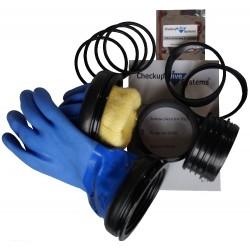 Ring set mit Handschuhe BLUE